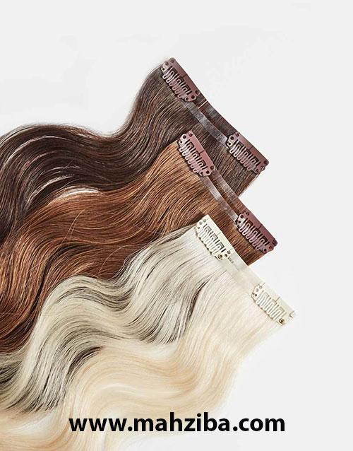 اکستنژن جدا شونده ، کلیپی ، جلوگیری از آسیب به مو ، پیشگیری از آسیب مو ، تقویت رشد مو ، کمک به رشد مو