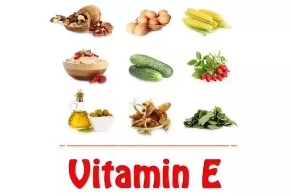 ویتامین هایی برای پوست سلامت و شادابی پوست ، ویتامین ای