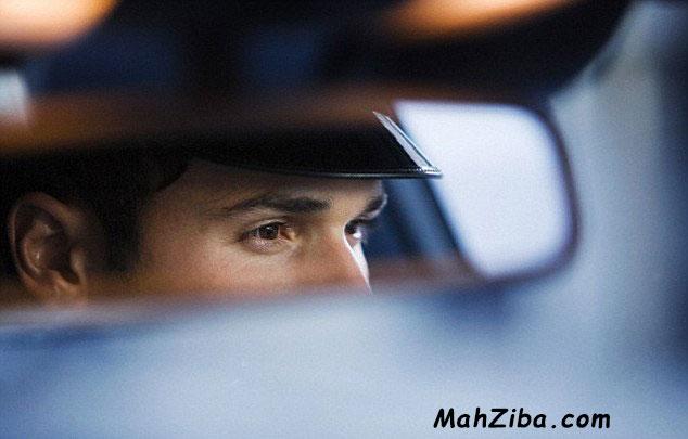 خیره شدن چشم موقع رانندگی باعث چروک می شود