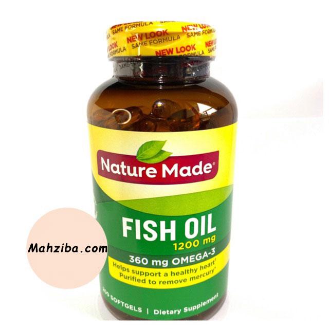 مصرف مکمل های اومگا و روغن ماهی برای تقویت مو