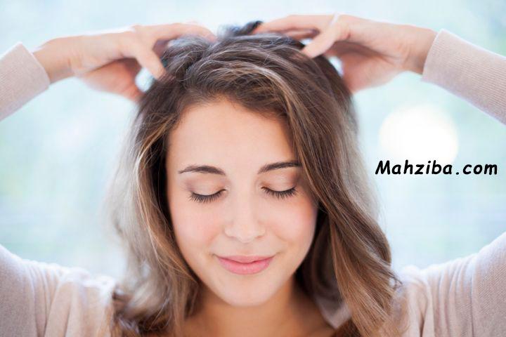 ماساژ سر و پوست سر برای جلوگیری از ریزش مو