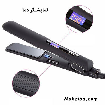 قابلیت تنظیم دما در اتو موهای مناسب برای کراتینه