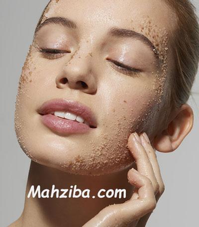 لایه برداری پوست صورت برای از بین بردن جوش سر سیاه و درمان آن