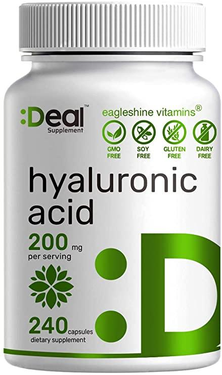 مصرف مکمل هیالورونیک اسید