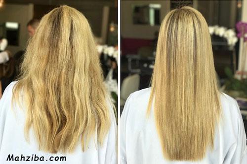 چگونه موهای خود را کراتینه کنیم