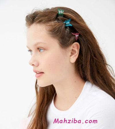 گیره مو پروانه ای برای کراتینه کردن مو