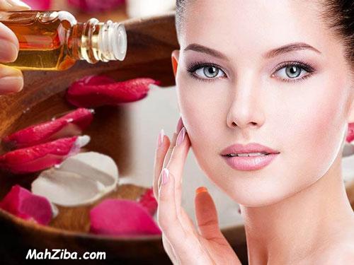 تونر گلیسیرین و گلاب برای پوست