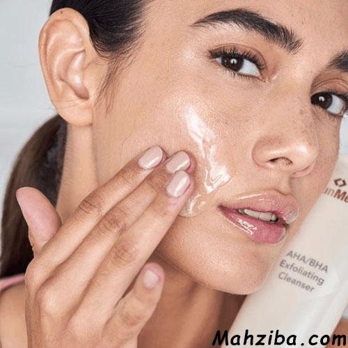 لایه برداری برای از بین بردن منافذ باز پوست