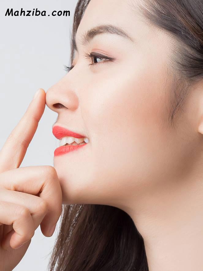 علت قرمز شدن یا سرخ شدن پوست اطراف بینی ، التهاب گونه و بینی
