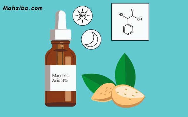 اسید ماندلیک و تاثیر آن به عنوان یک ضد لک قوی بر روی پوست