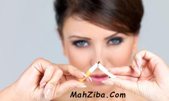 سیگار کشیدن چین و چروک صورت دور چشم مراقبت از پوست