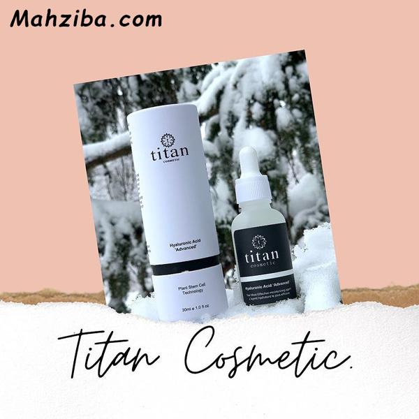 سرم ضد لک و هیالورونیک اسید تایتان